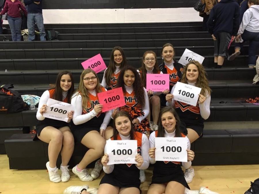 Yorko Breaks the 1000 Point Milestone