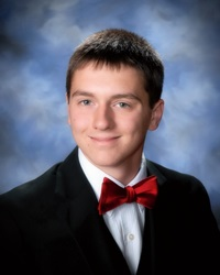 Alexander Flenniken named Clarksville Lions Club January Student of the Month