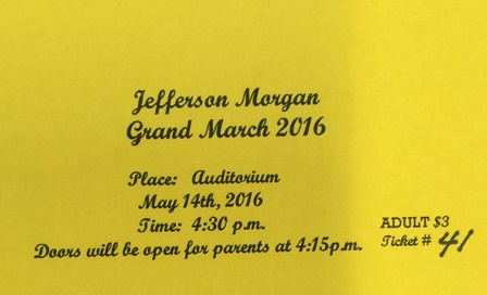 Grand March Tickets on Sale Now!