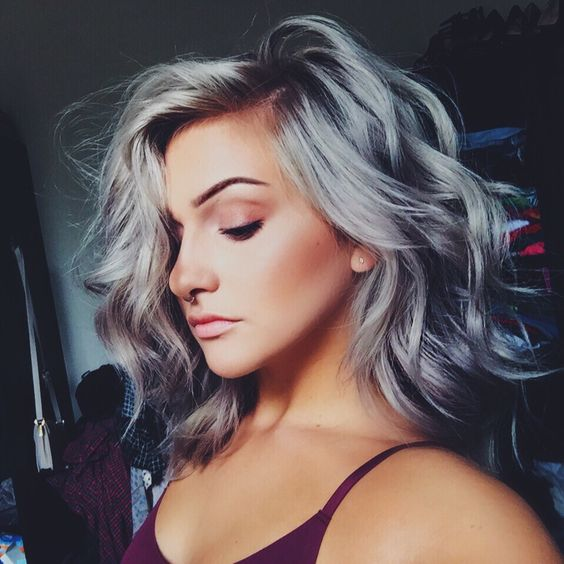Silver Hair Gone Wrong