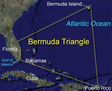 Bermuda Triangle Theories