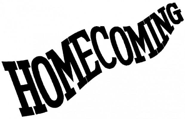 Working on the Homecoming Program