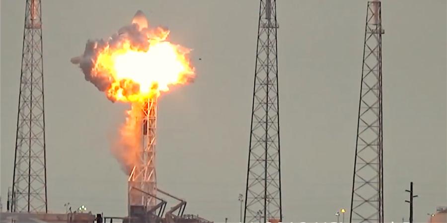 SpaceX Blast