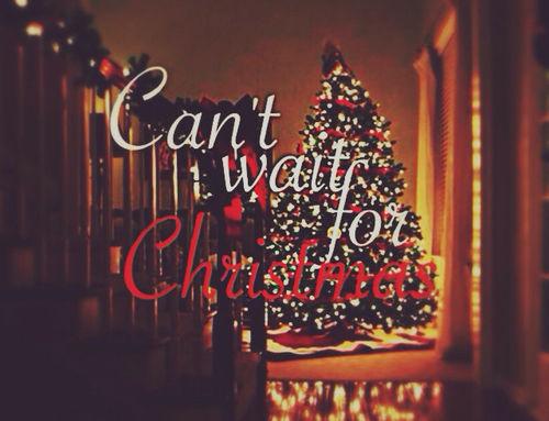 Rushing to Christmas