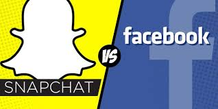 Facebook and Snapchat competing?
