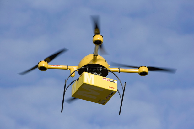 Drones to soon be charging while flying