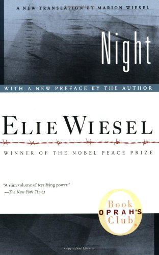 Elie Wiesels Noble Peace Prize book