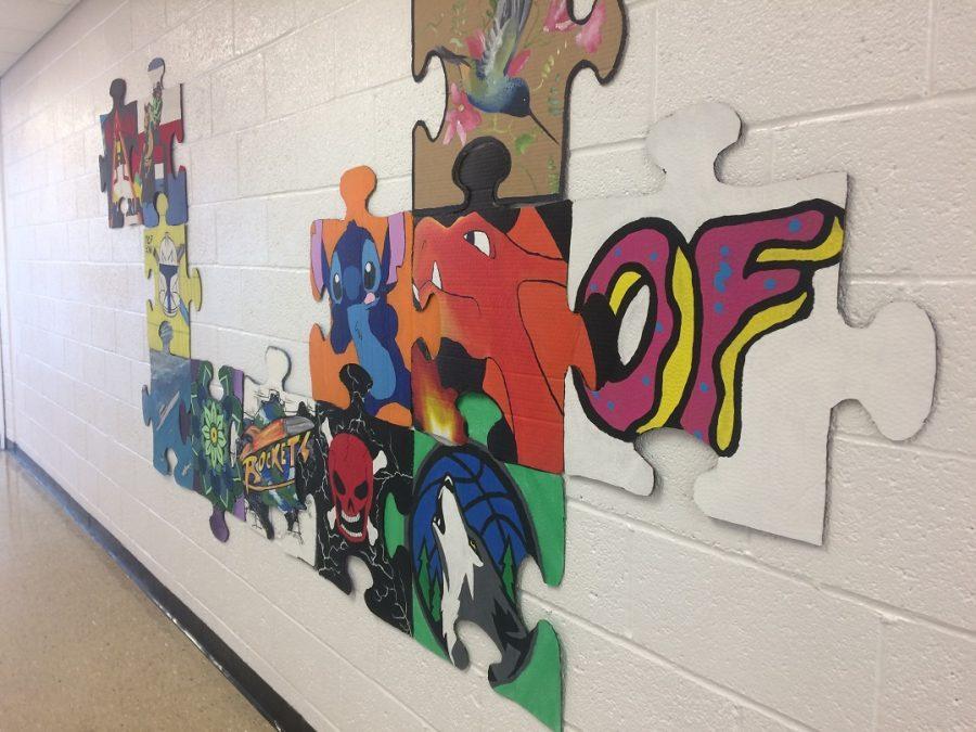Puzzling Art Work
