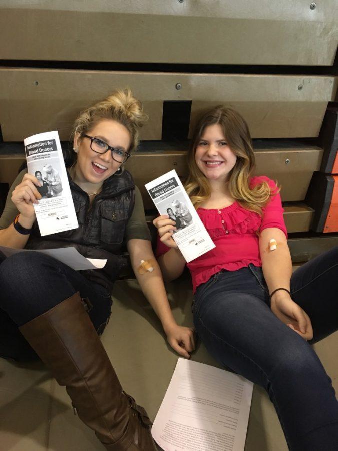 JM Students Support NHS Blood Drive