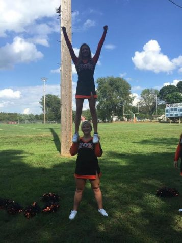 Cheerleader's Bringing Spirit to J-M!