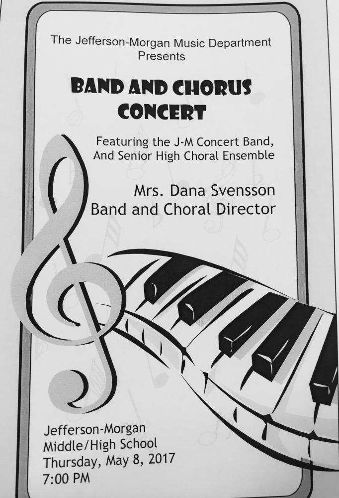 Spring Band and Chorus Concert