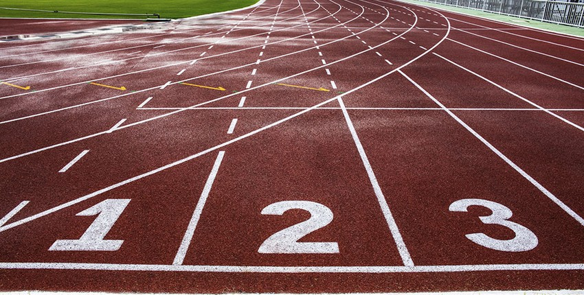 Short Distance Running Events in Track and Field