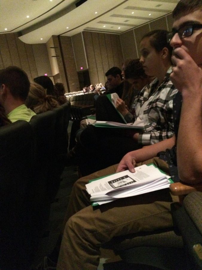 Biology II Students Visit Sam Rhine Conference