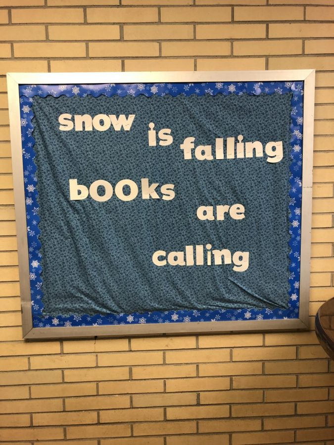Winter spirit and book reading.