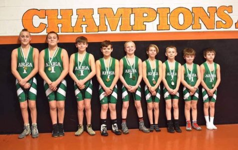 Jefferson-Morgan Sends 10 Youth Wrestlers To States!
