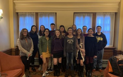"Library Club Visits Broadway's, ""Phantom of the Opera"""
