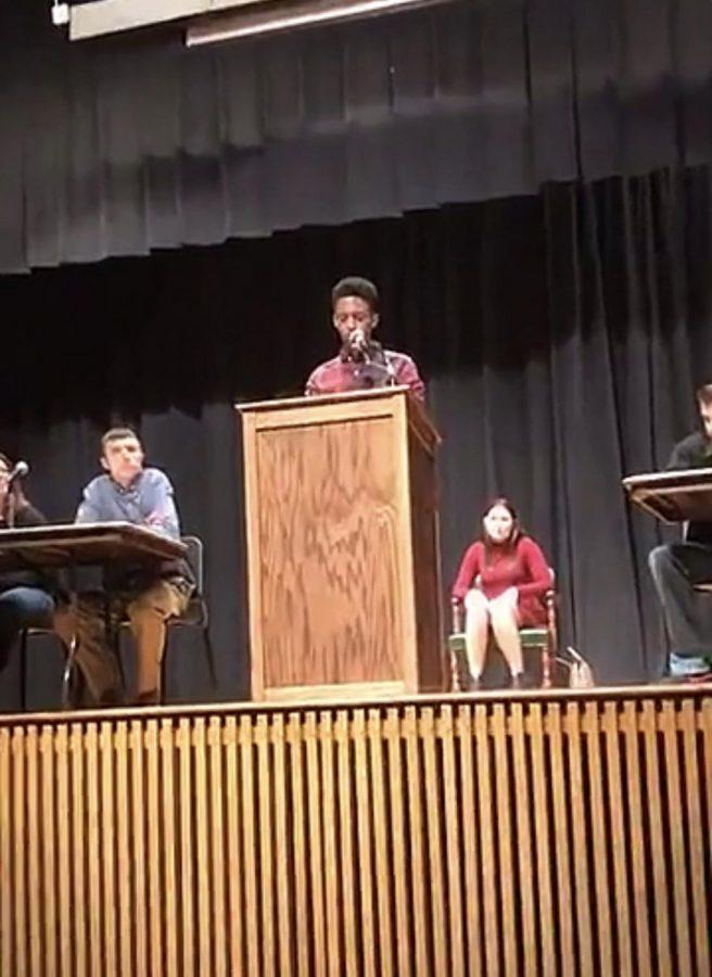 JM Hosts Friday Debate