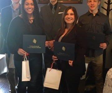 Cernuska Awarded 2018-2019 Jefferson-Morgan DAR Good Citizen Award