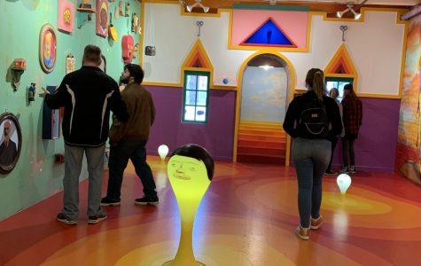 Art Club Visits Mattress Factory