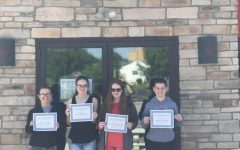 Perfect Attendance Student's Visit Dairy Queen