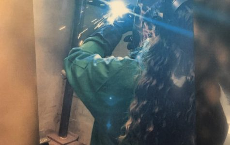 GCCTC's Only Female Welder is JM Student