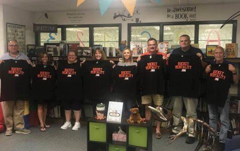 """Jefferson-Morgan School District's Board of Directors Win """"Rocket Mentality"""" T-Shirts!"""