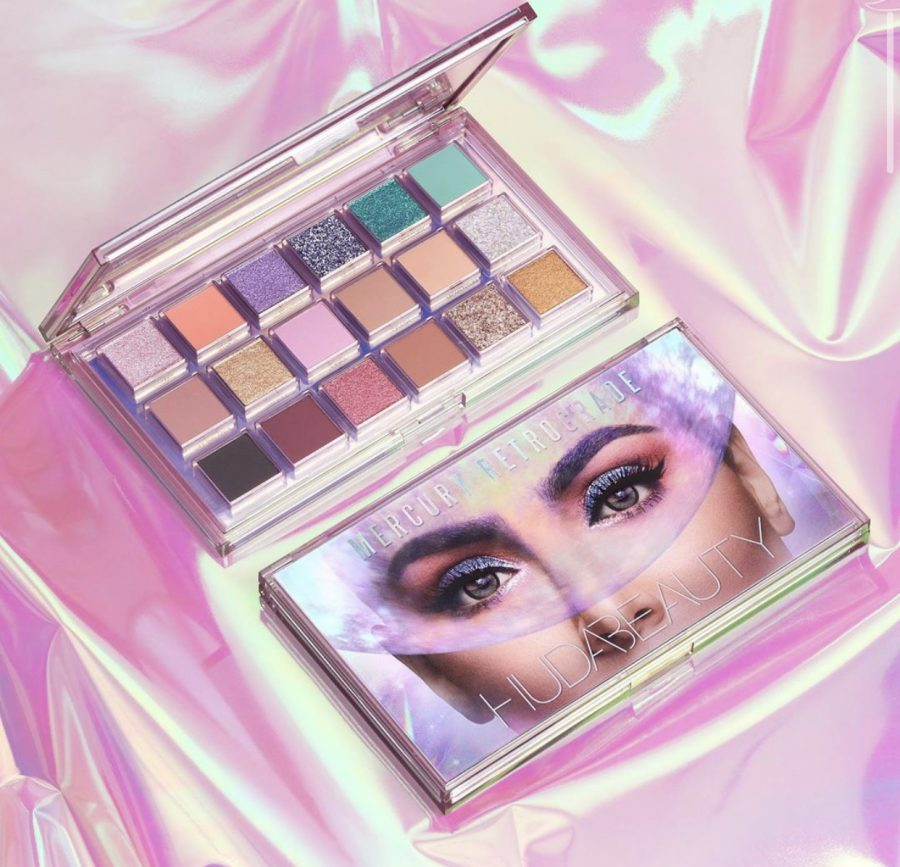 Huda Beauty Drops New Palette: Mercury Retrograde Eyeshadow Palette