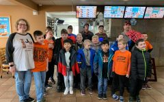 Elementary Students Visit Local Dairy Queen
