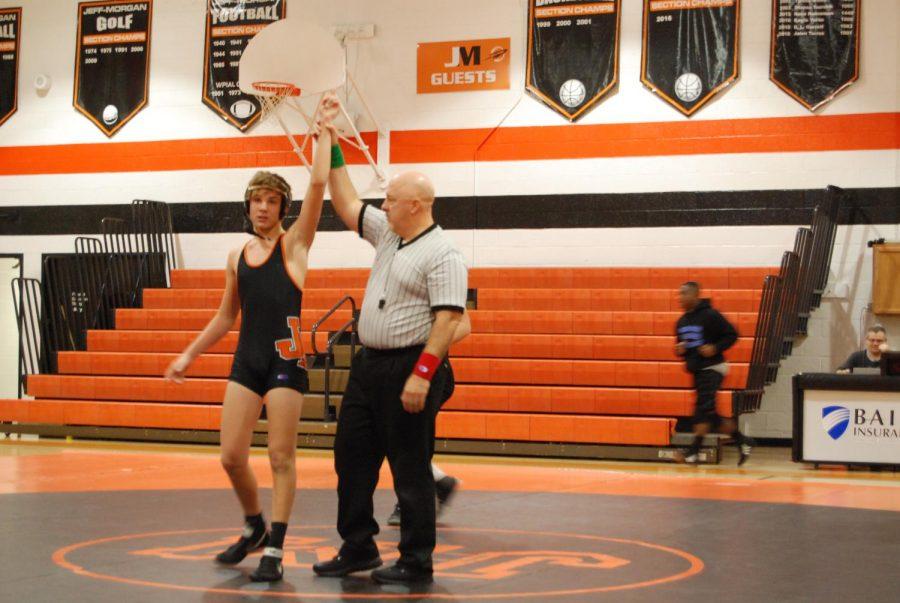 Varsity Wrestling Takes On Beth-Center