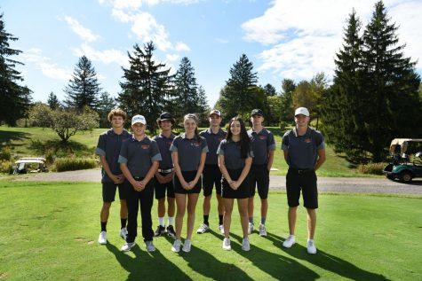 2020-2021 Golf Team