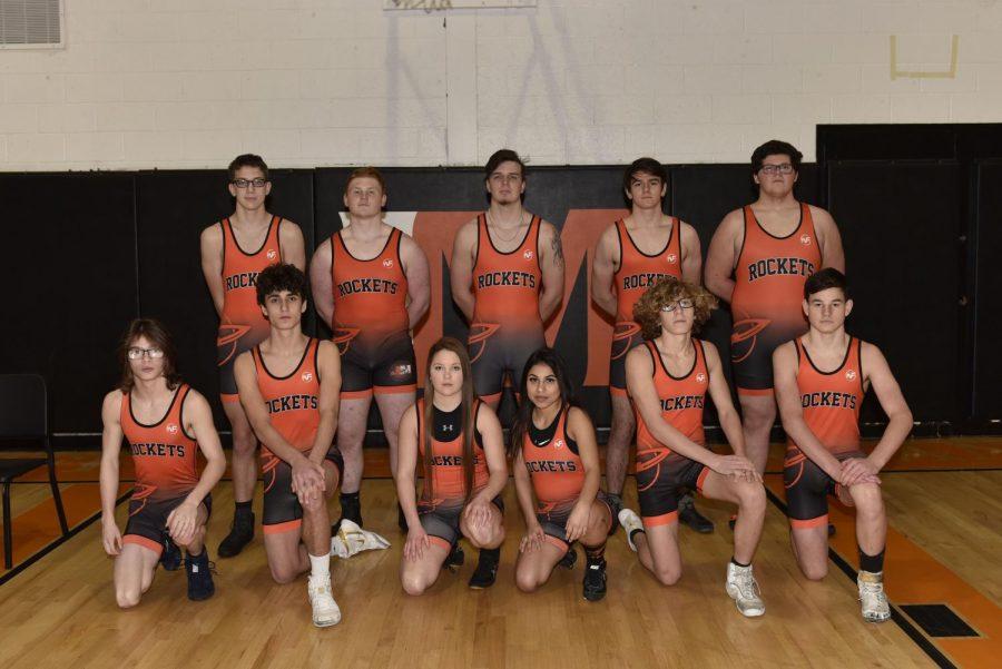 2020-2021 Wrestling Team